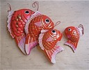 Red Fish Small, Med, Large, EX
